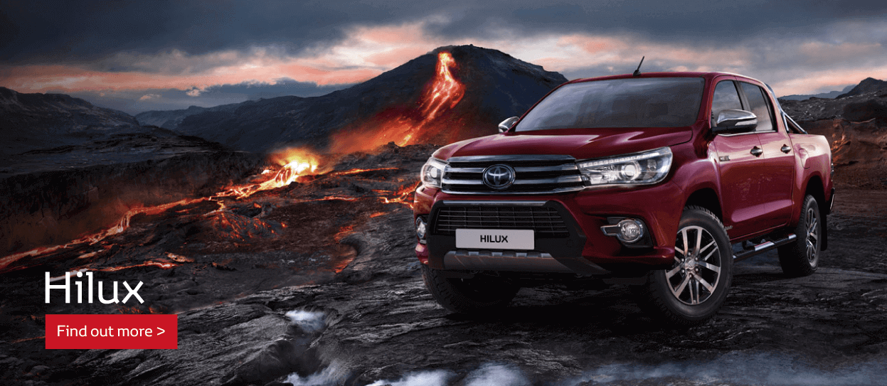 All New Hilux Commercial
