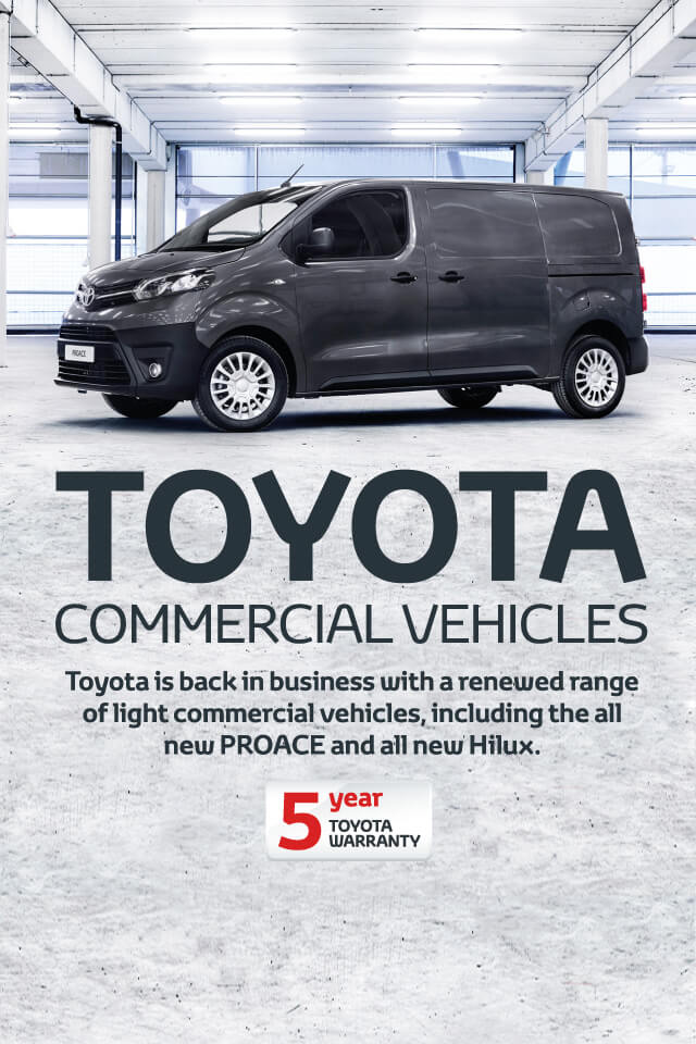Toyota Commercial Vehicles BB