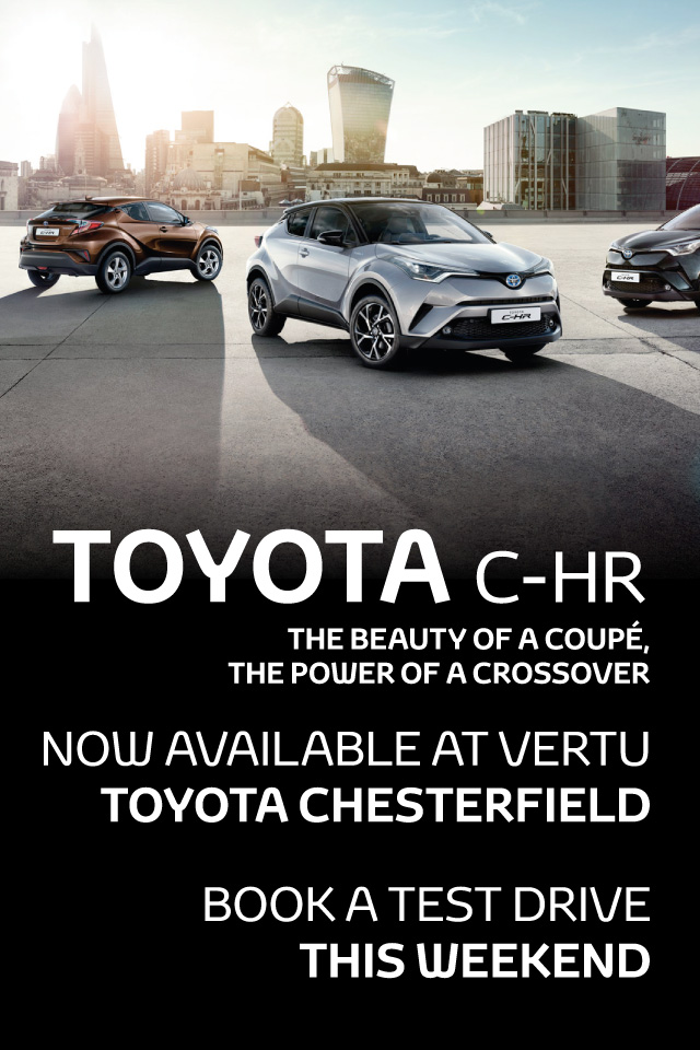 Toyota C-HR Available