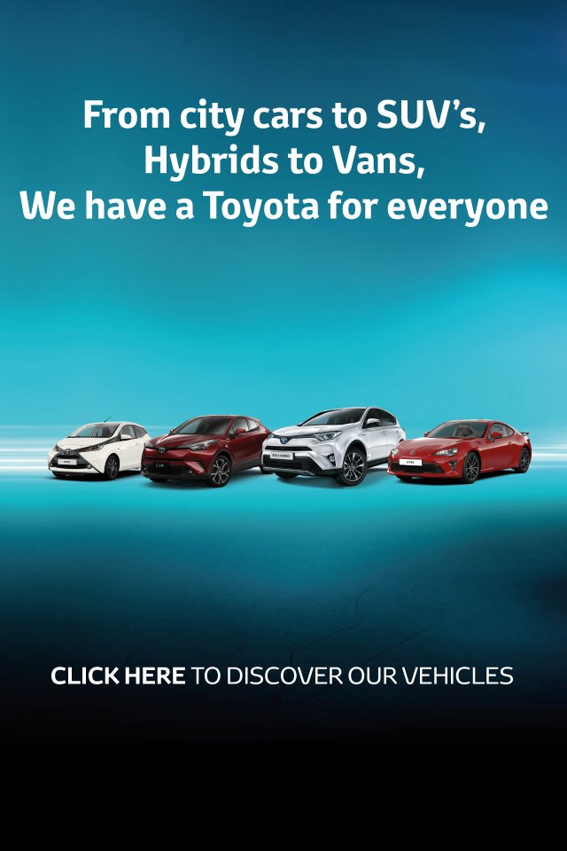Toyota - Awareness Landing Page BB