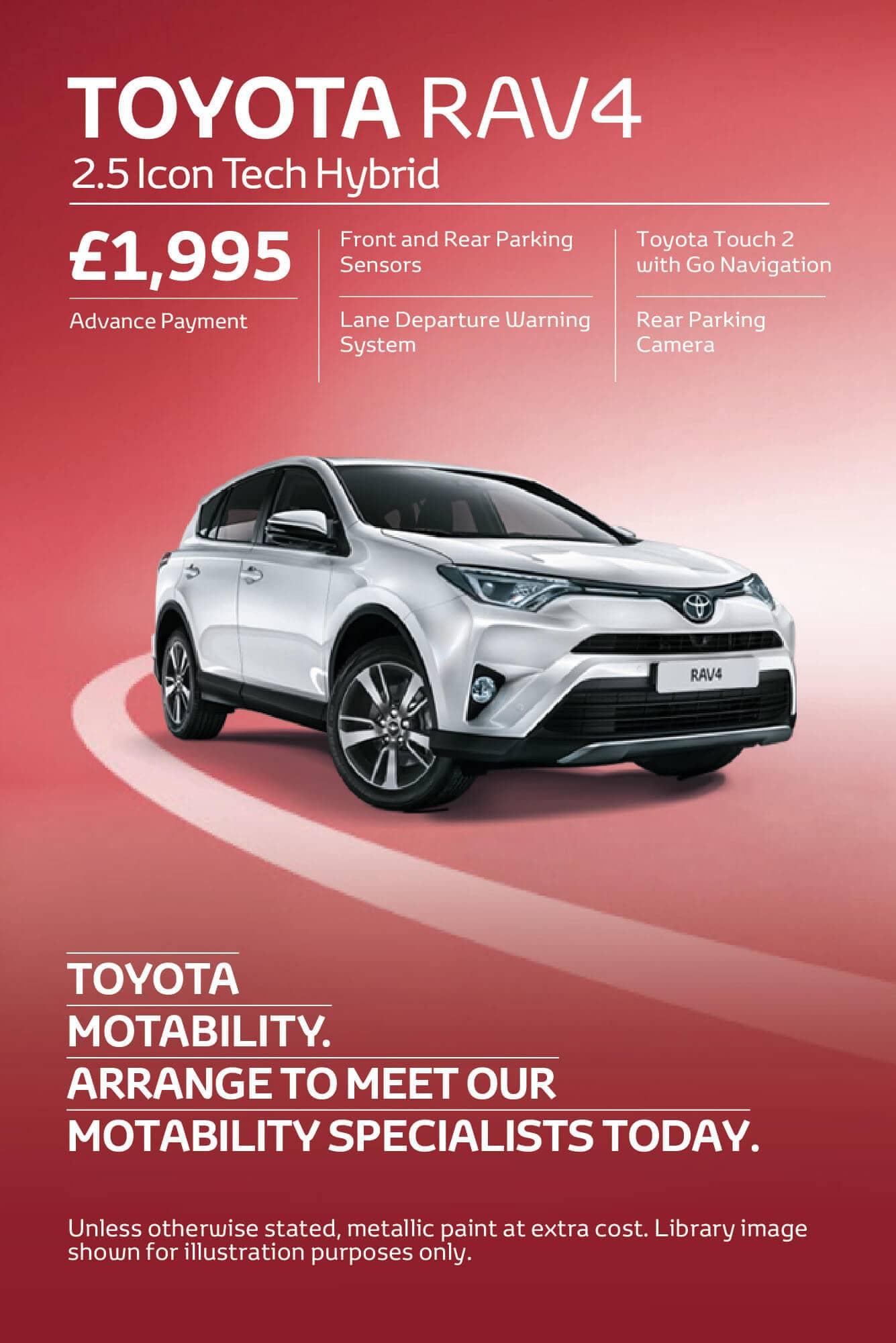 Toyota Motability Cars Toyota Motability Online Vertu