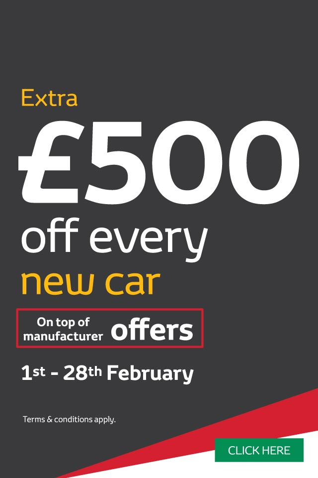 �500 Off New Car February 2018 - Toyota