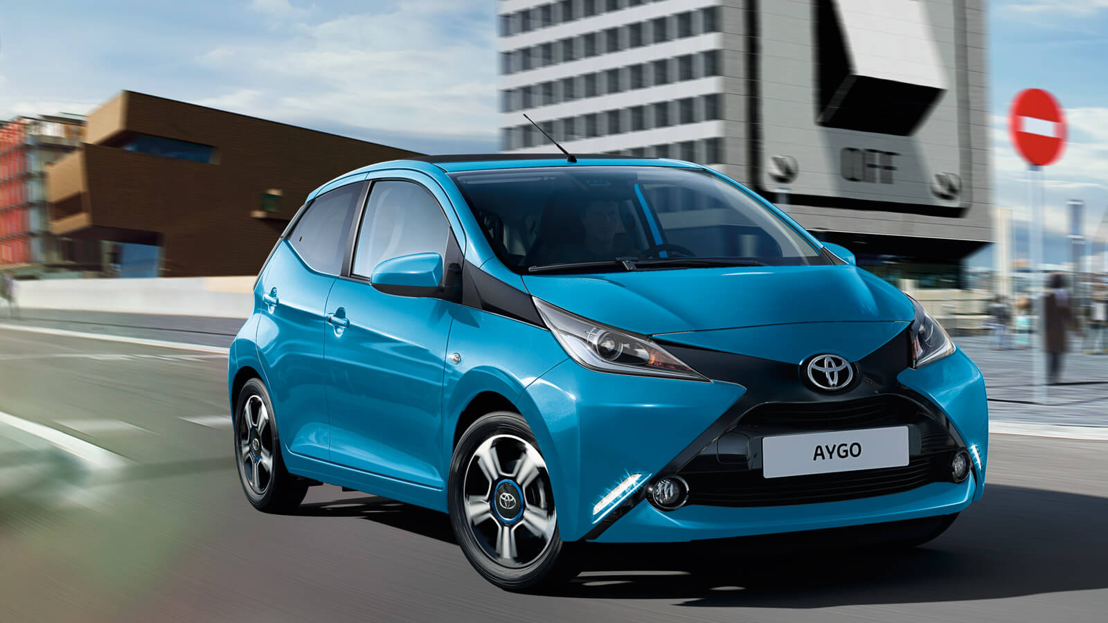 Wherever you go, AYGO