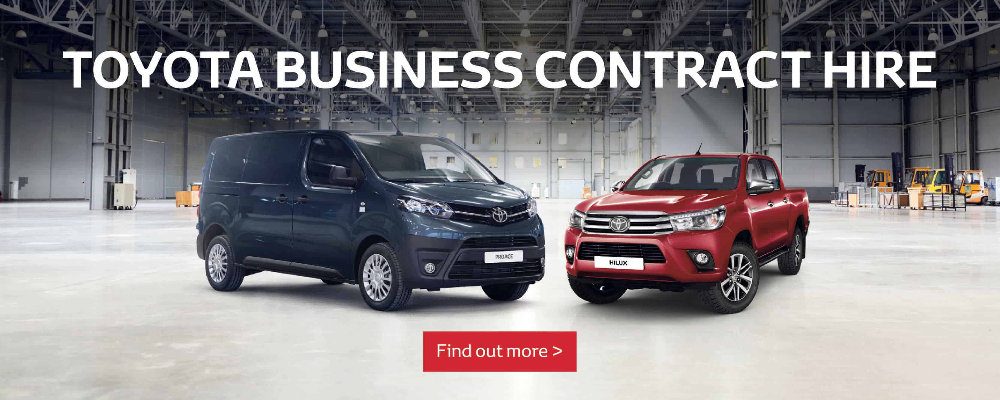 Toyota Business Contract Hire BB