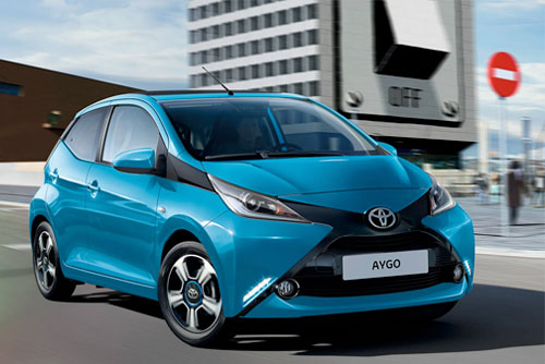 Toyota Wherever you go, AYGO