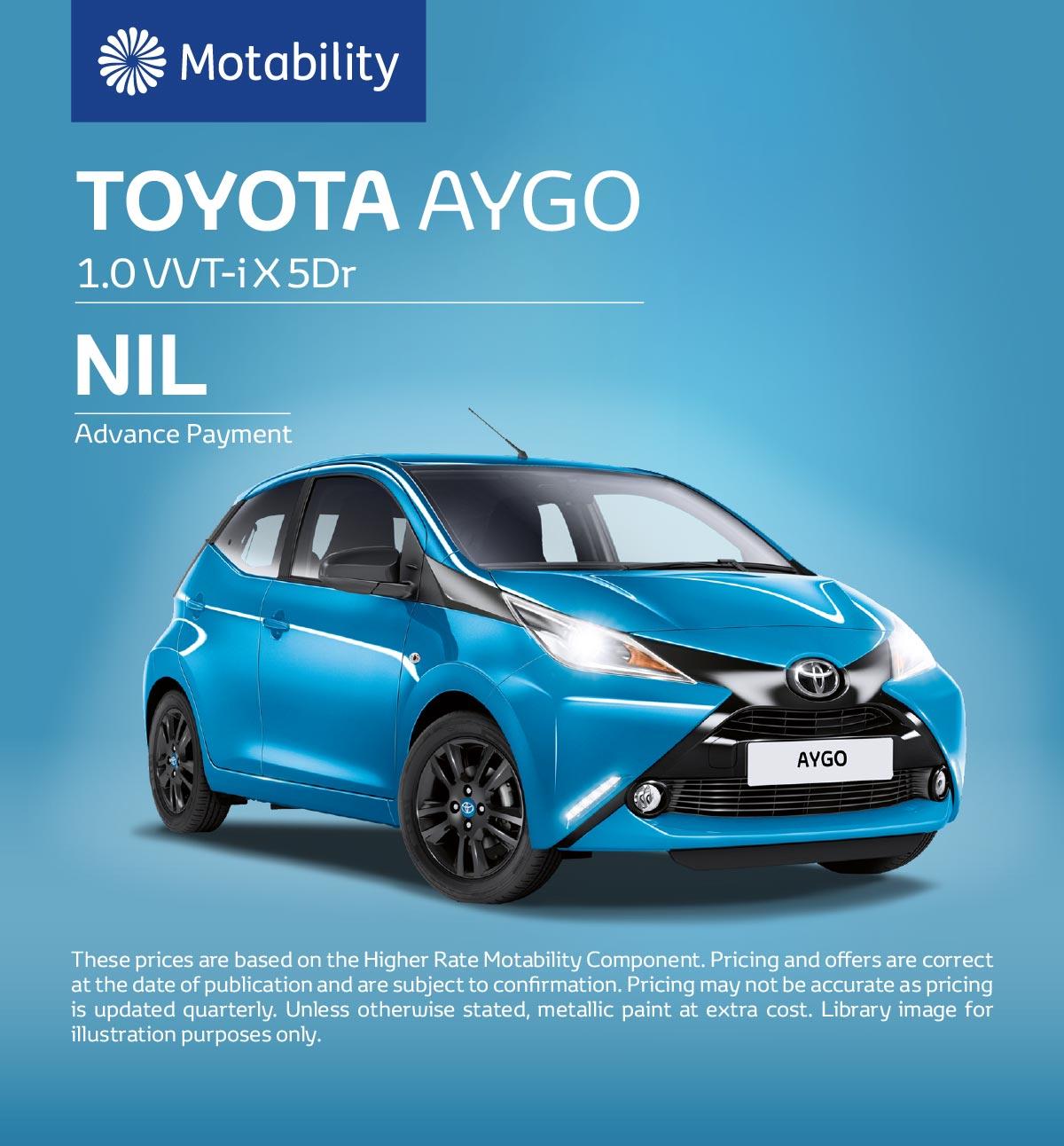 Toyota Motability Cars | Toyota Motability Online | Vertu Toyota