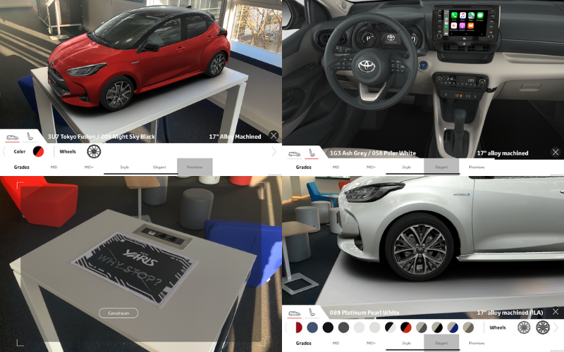 Try Before You Buy: The All-New Toyota Yaris Augmented Reality App