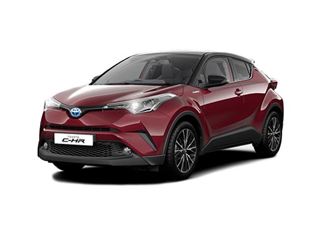New Toyota C-HR 1.8 Hybrid Red Edition 5Dr Cvt Hybrid Hatchback for Sale | Vertu Toyota