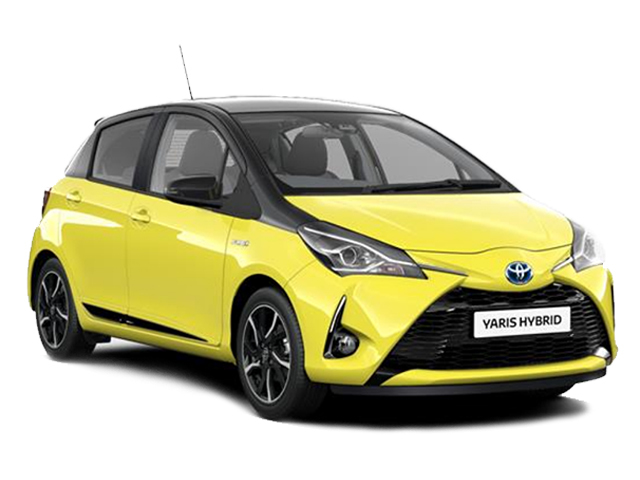 new toyota yaris 1 5 hybrid yellow edition 5dr cvt hybrid. Black Bedroom Furniture Sets. Home Design Ideas