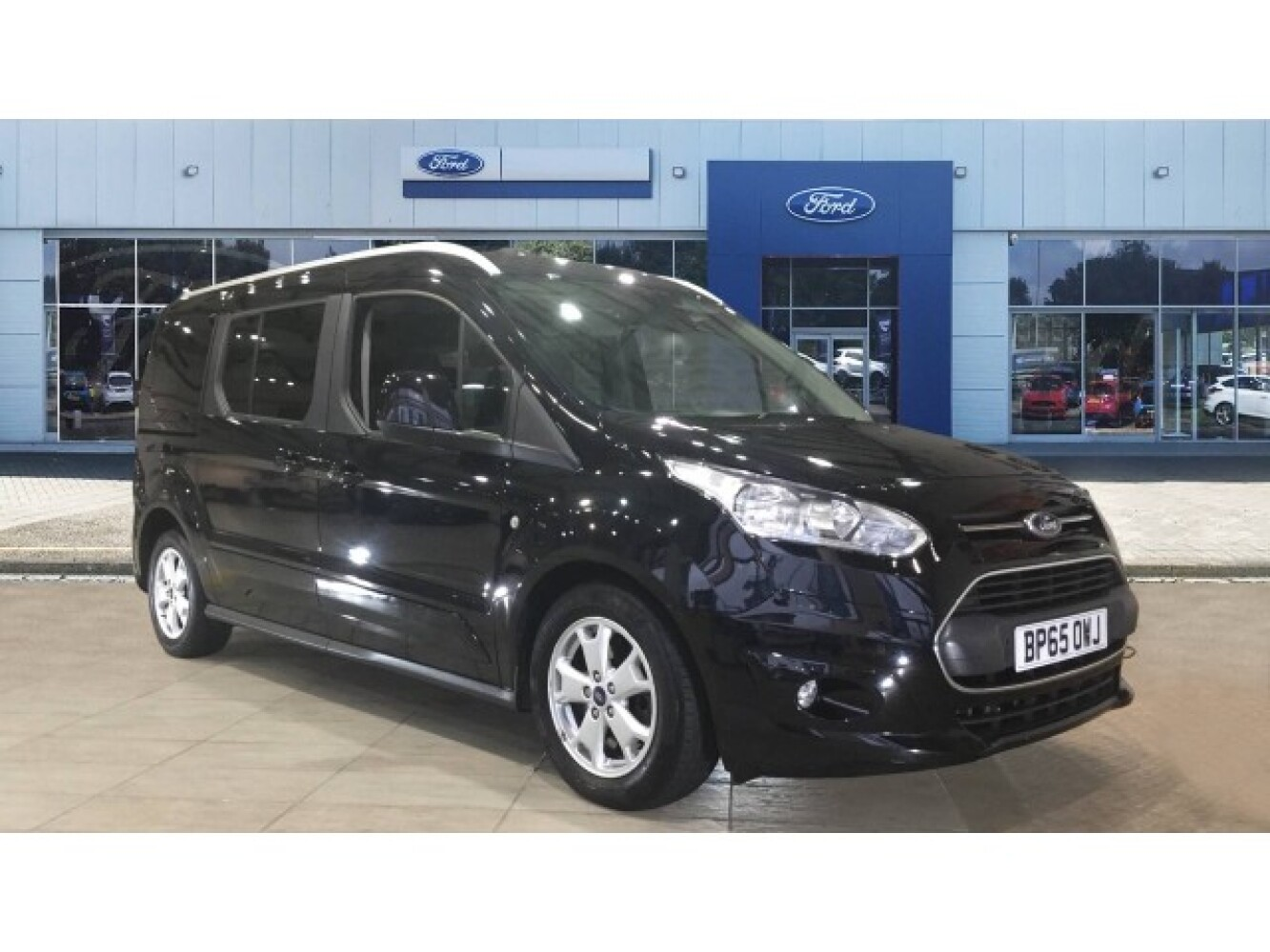 used ford grand tourneo connect 1 5 tdci 120 titanium 5dr diesel estate for sale vertu toyota. Black Bedroom Furniture Sets. Home Design Ideas