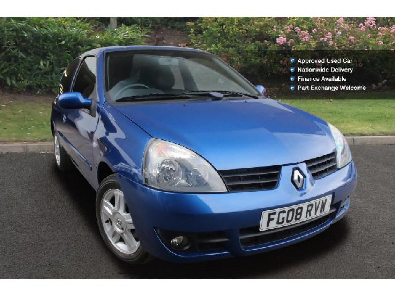 used renault clio 1 2 16v campus sport i music 2007 3dr petrol hatchback for sale vertu toyota. Black Bedroom Furniture Sets. Home Design Ideas